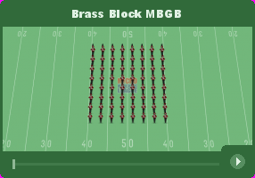 Brass Block MBGB - Micro Marching League